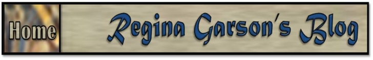 Regina Garson's Blog